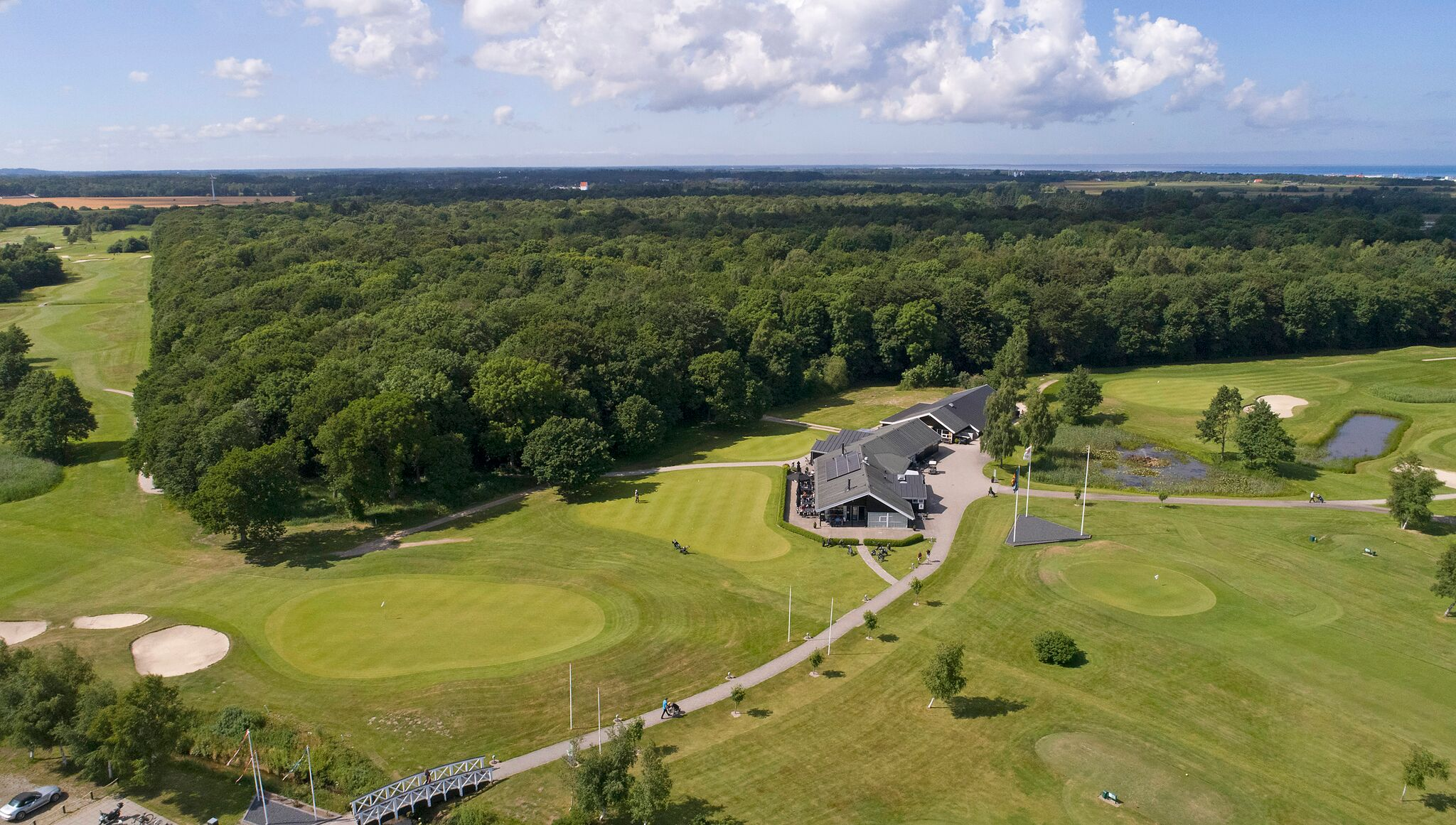 Top golf course Danmark