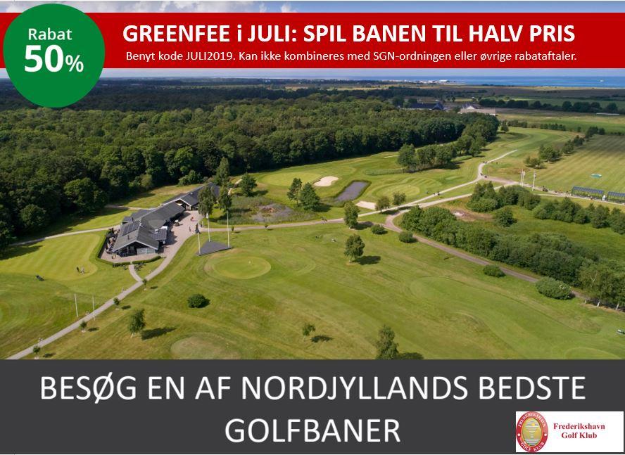 Rabat på Greenfee Nordjylland